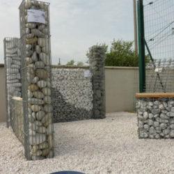 Gabion Colonne de pierres