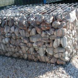 Gabion cage de pierre