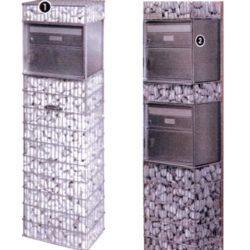 Gabion Boîte aux lettres simple ou double